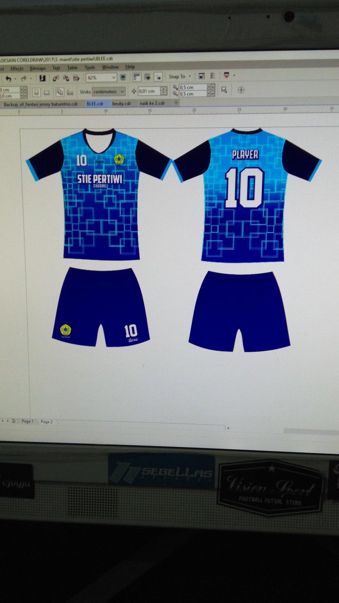 Desain Jersey Futsal Corel : desain, jersey, futsal, corel, Three, Twitter:,