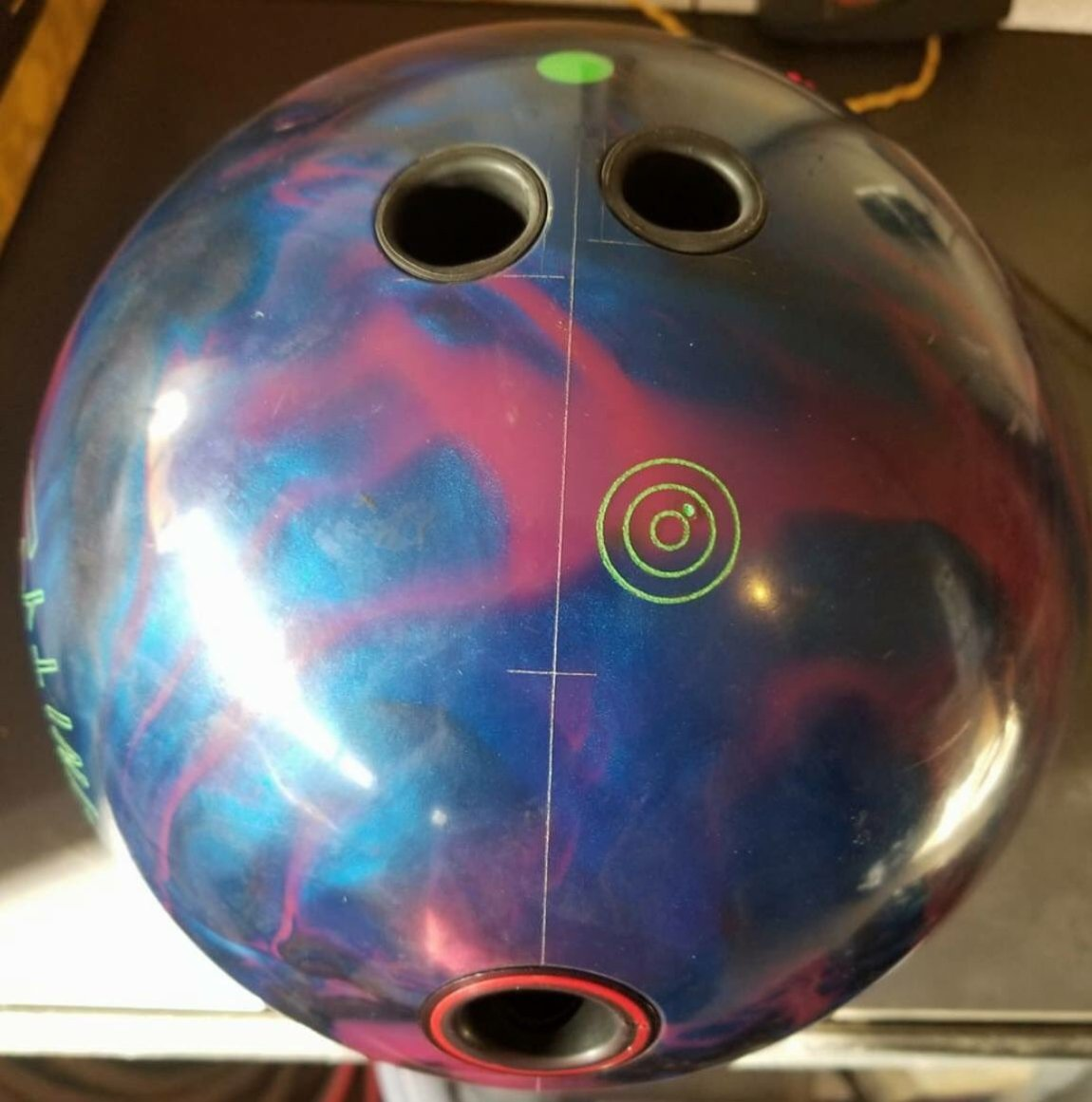 test Twitter Media - The Affinity features a brand new higher RG core that is designed to give effortless length through the front of the lane on medium conditions with a strong down lane motion. Drill one up today! #Ebonite #Affinity https://t.co/cBojjNqsKm