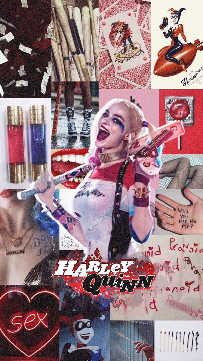 Harley Quinn Lockscreen : harley, quinn, lockscreen, Lockscreen, 🧚🏼♀️, Twitter:,