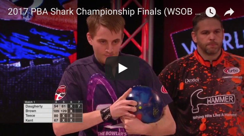 test Twitter Media - Missed the excitement of the 2017 PBA Shark Championship finals featuring @TDBOWLS, @teece300, Charlie Brown and @marshallkent299 You can watch it on our YouTube channel ➡️  https://t.co/lKLbUY3DVv #WSOB https://t.co/XMME3WJ329