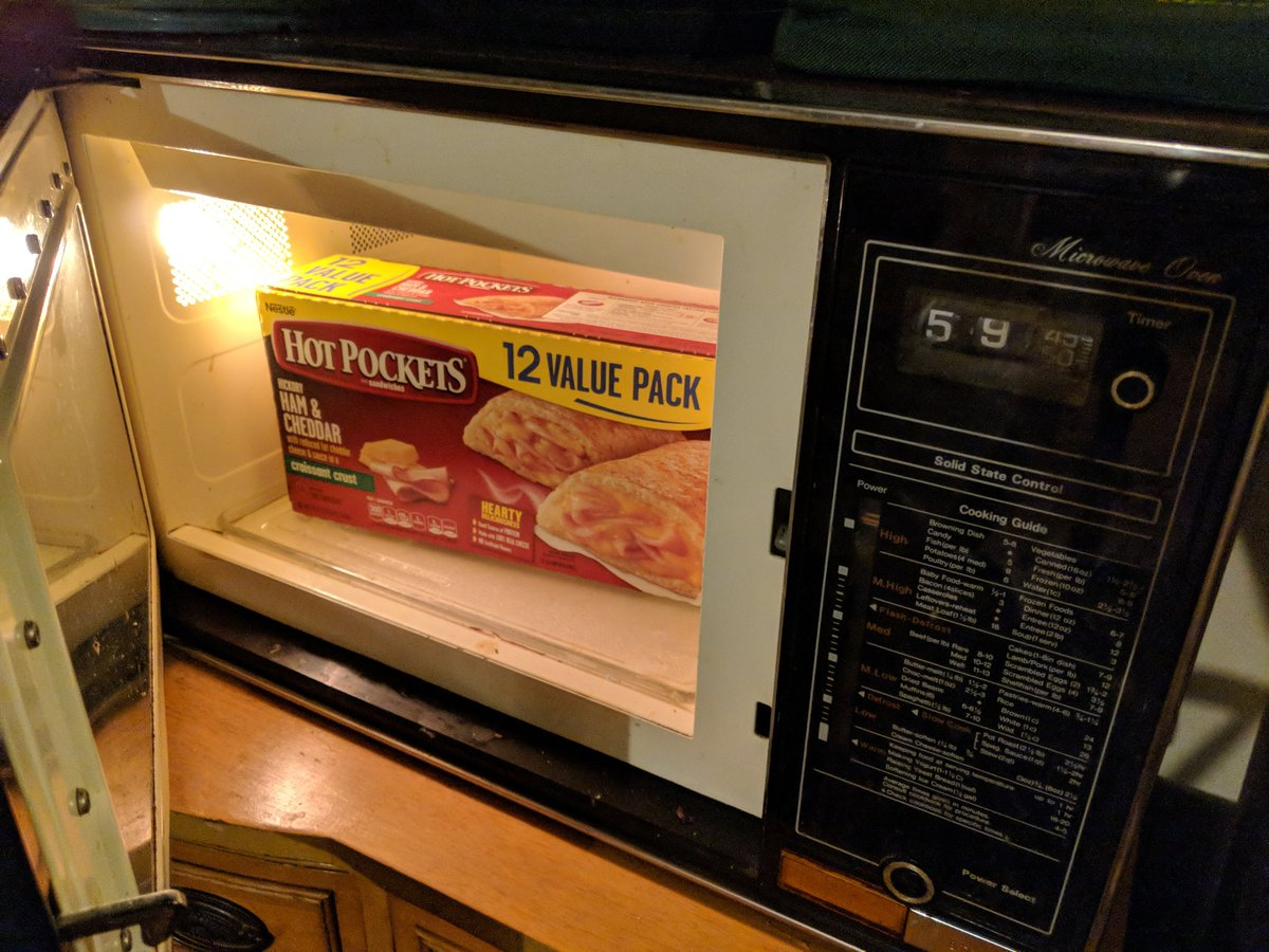 how long do you microwave a hot pocket