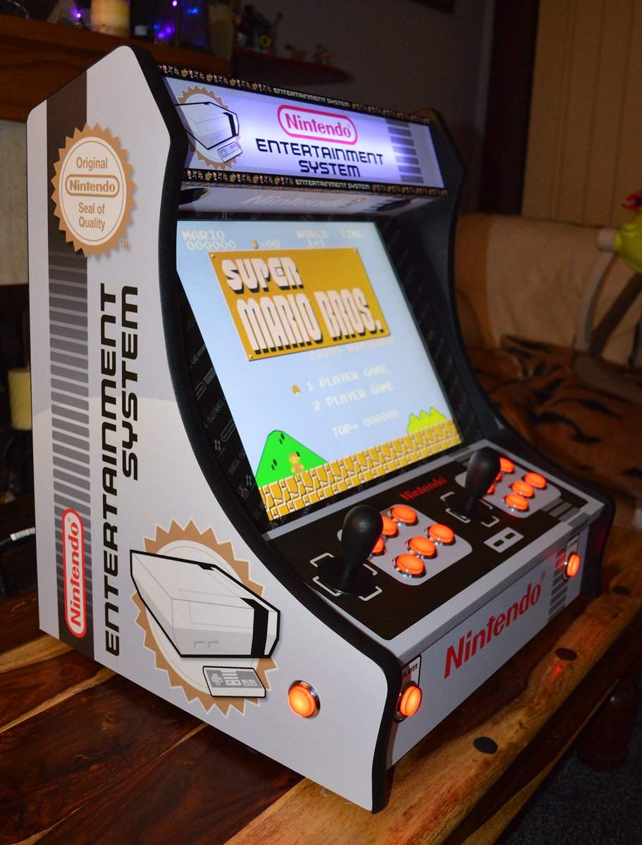 mini arcade machines on