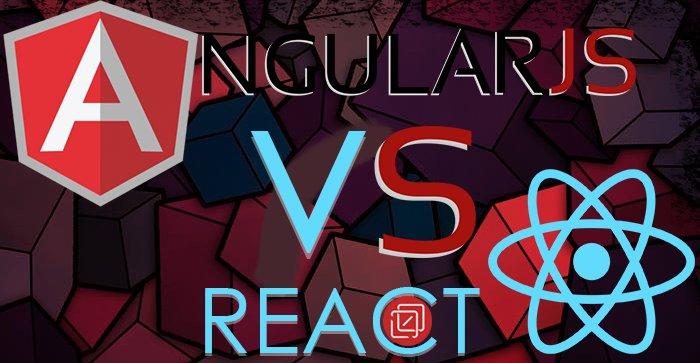 #AngularJS vs #ReactJS – War of Facts | An #Infographic worth scrolling!  #javascript #JS