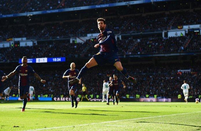 Repetición goles del Barcelona vs Real Madrid