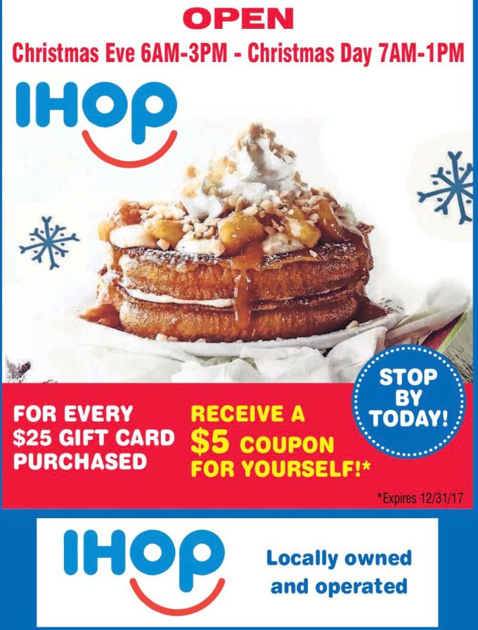 is ihop open today on christmas christmaswalls co