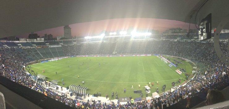 """Estadio Azul """"vibró"""""""