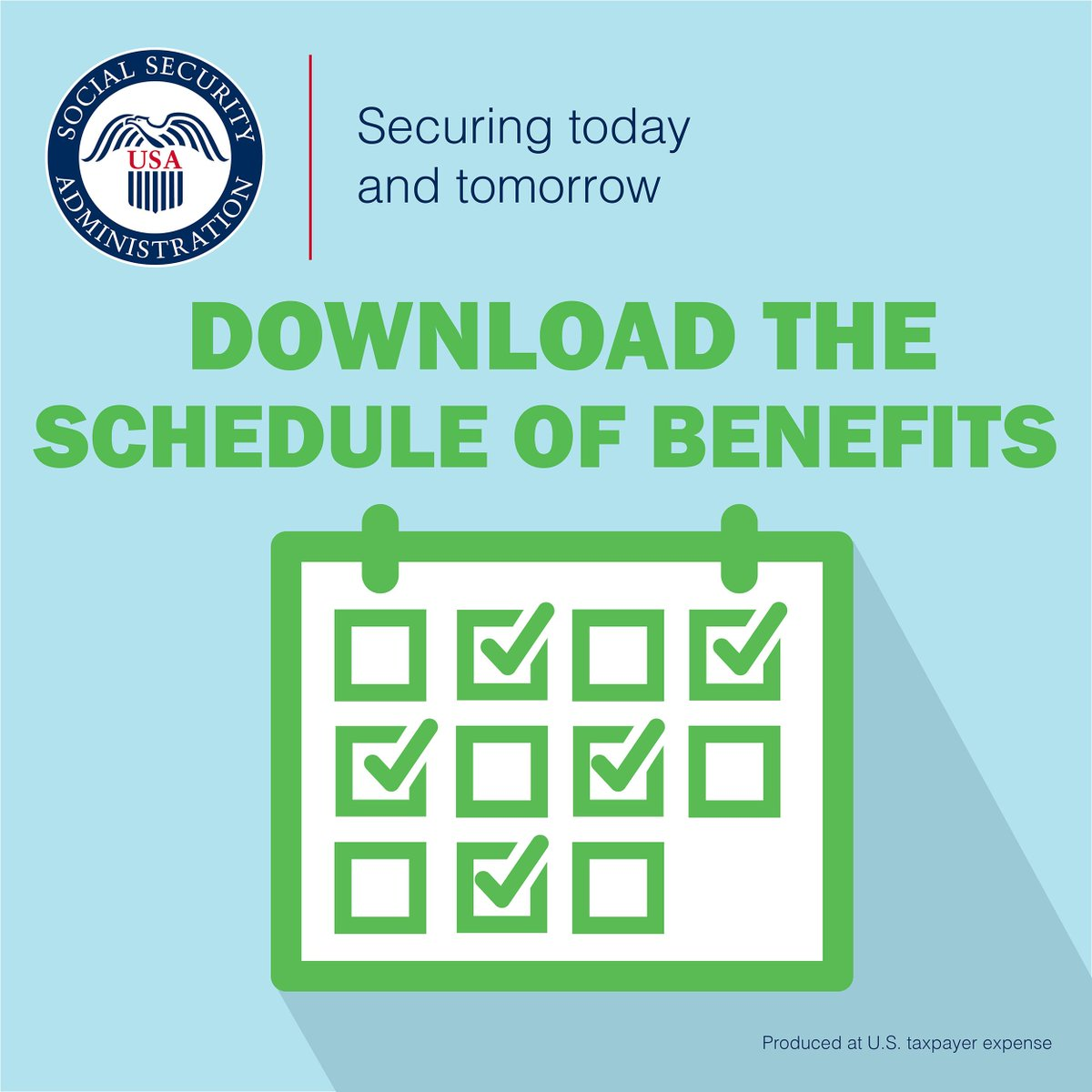 Social Security Payment Schedule