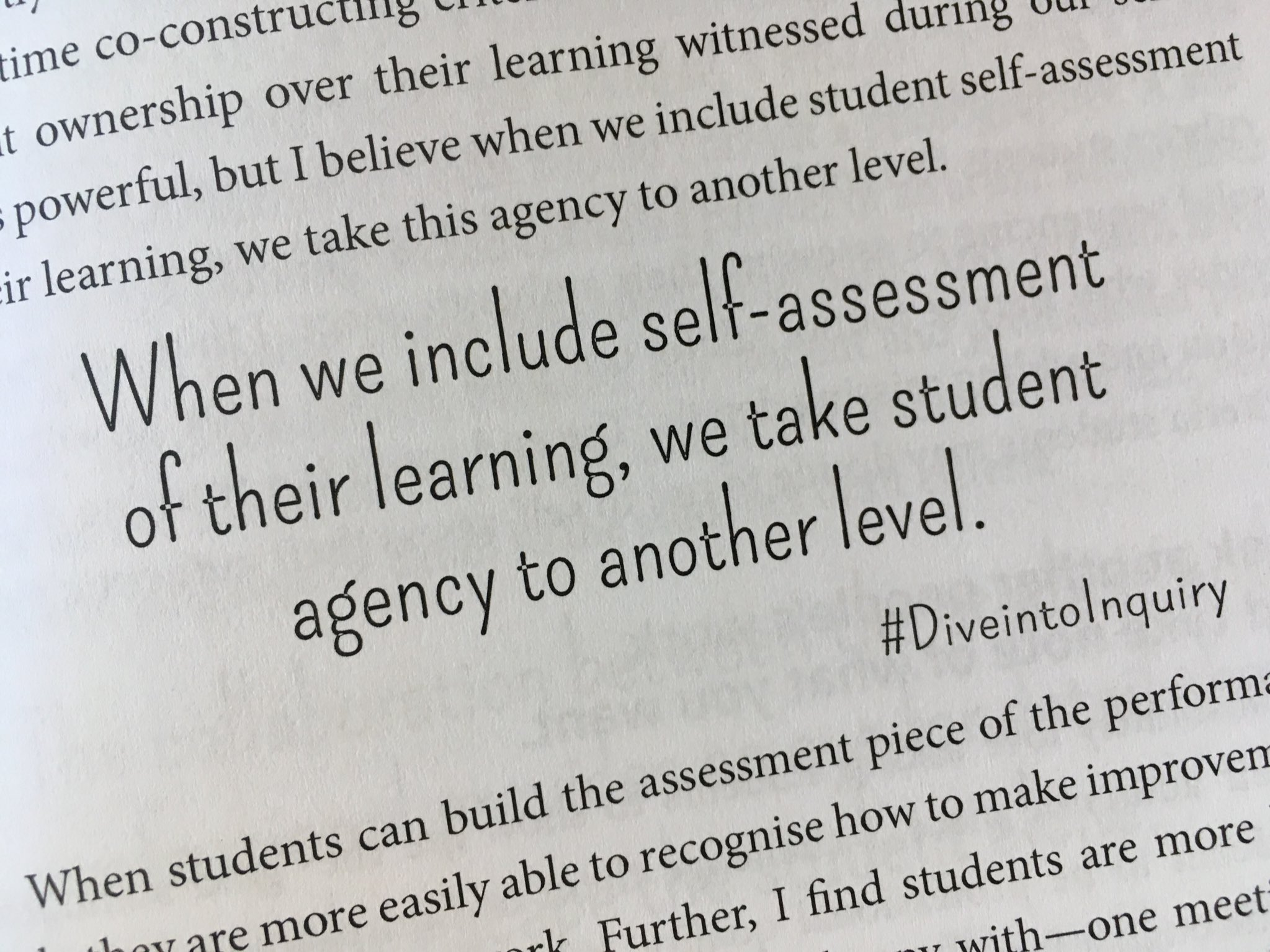 """Melissa Armstrong On Twitter: """"self-Assessment & Feedback As Key To  Fostering Student Agency. Wondering About Role Of Metacognition In Inquiry  & How This"""