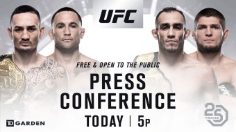 UFC 25th Anniversary Press Conference Live Stream: Watch Online