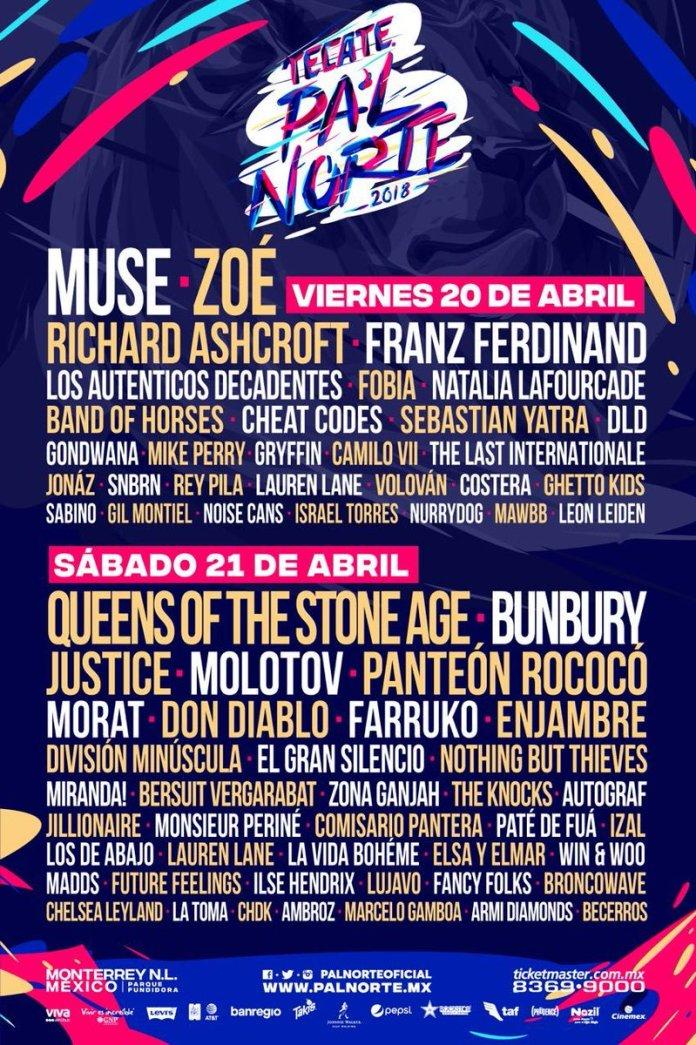 Pal Norte boletos 2018