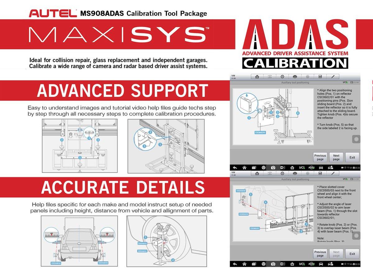 Bosch Adas Calibration Tool