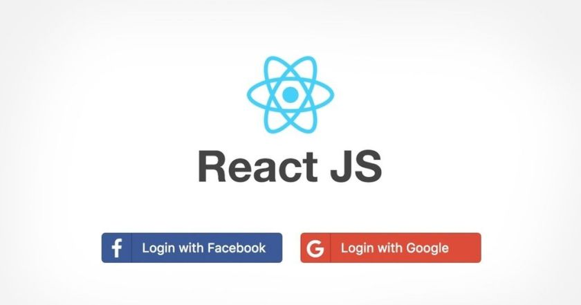 Login with Facebook and Google using #ReactJS and RESTful APIs