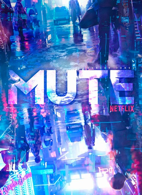 Eerste poster van Mute op Netflix België