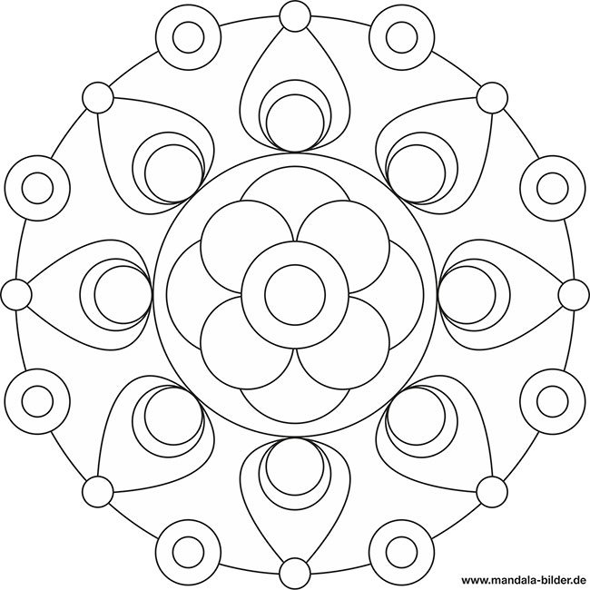 "Mandala-Bilder on Twitter ""Malvorlagen Mandala für Kinder"