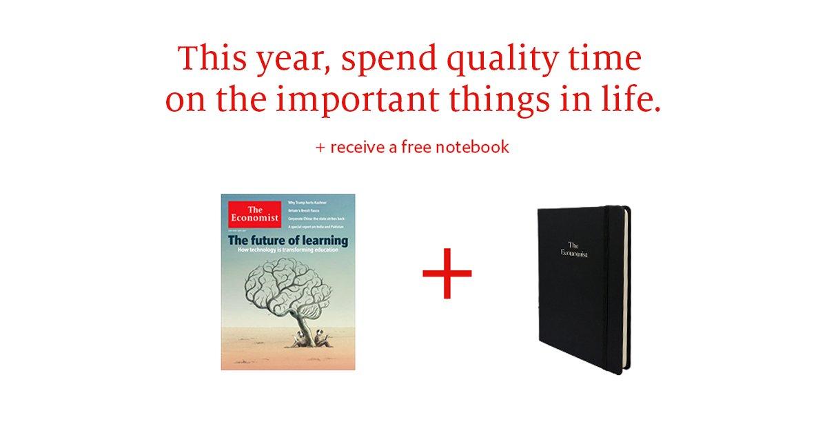 economist subscribe time precious