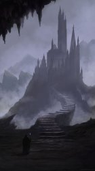 Adam Zmarz on Twitter: Another thought provoking image of the day #tpiotd # fantasy #castle #Gothic #magic #magician #sorcery #evil #heroes #villains #adventure #HeroesJourney #evil #wickedness #caverns #amwritingfantasy #steps #castles #setting