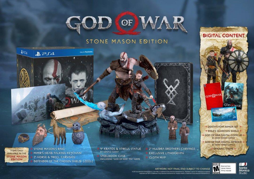 God of War Special Editions & Pre-Order Bonus Revealed 3