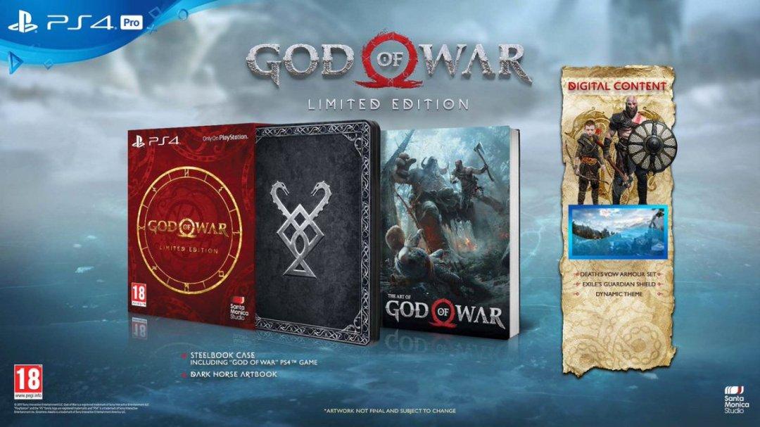 God of War Special Editions & Pre-Order Bonus Revealed 4