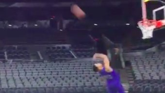 Markelle Fultz Buries Full Court Shot Backwards In Shootaround…Still Can't Shoot Forwards