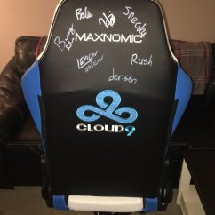Lcs Gaming Chair Zero Gravity With Side Table Nick Johnson On Twitter Thanks To Needforseat For This Maxnomic Cloud 9 Pro Signed By Current Former Na Players