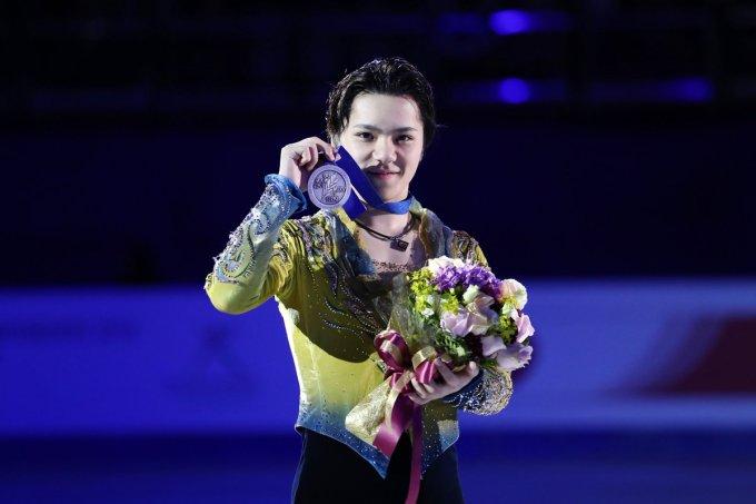「宇野昌磨 オリンピック 銀」の画像検索結果