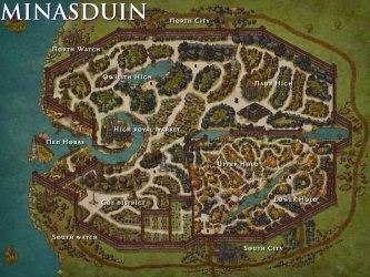 Inkarnate on Twitter: The Elven city of Minasduin by Tim Van Esch
