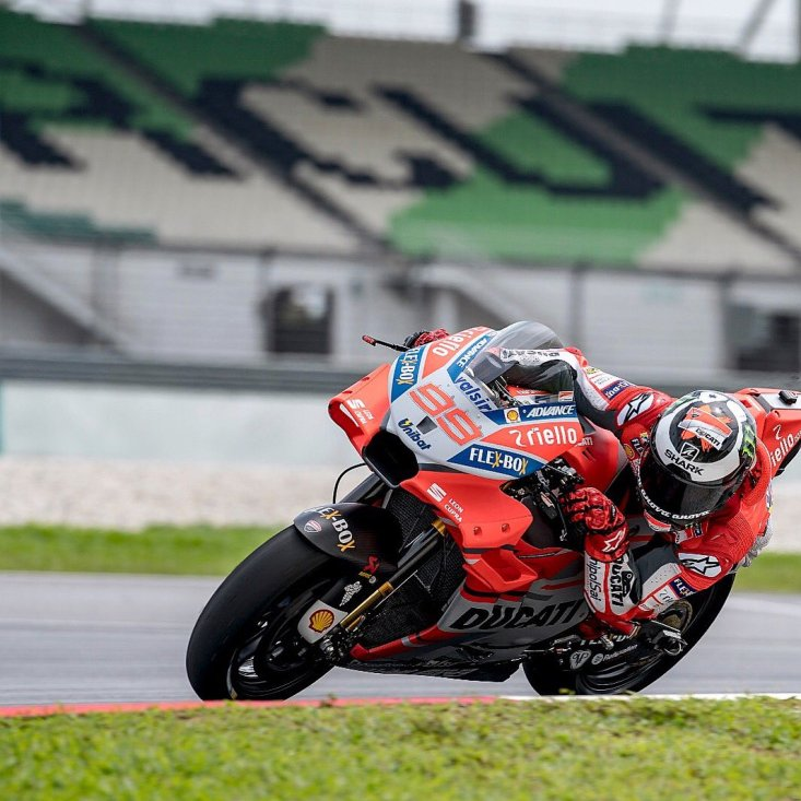 Test Sepang Ducati