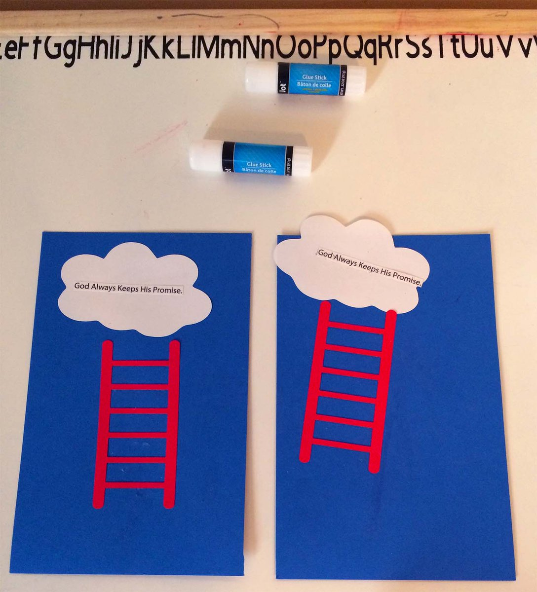 Bibletime On Twitter Teach Your Children The Story Of Jacob S Ladder Check Out This Easy