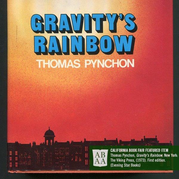 "ABAA Rare Books On Twitter ""Thomas Pynchon GRAVITY'S RAINBOW"