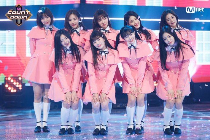 Image result for fromis_9 idol school site:twitter.com