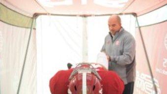 Alabama Football Lands Patent For Sideline Medical Tents