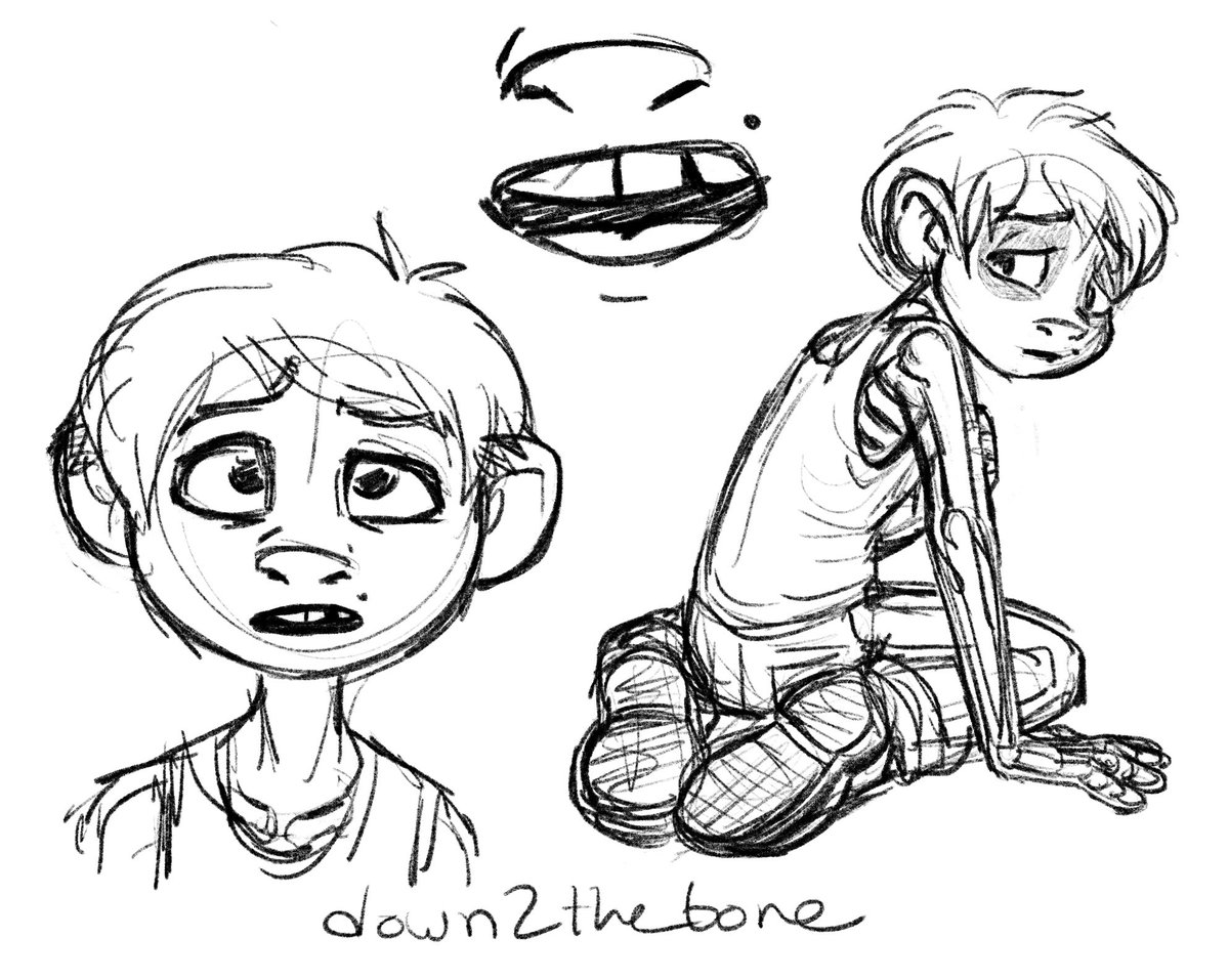 Skeleton Boy On Twitter Quick Miguel Doodles Before Bed