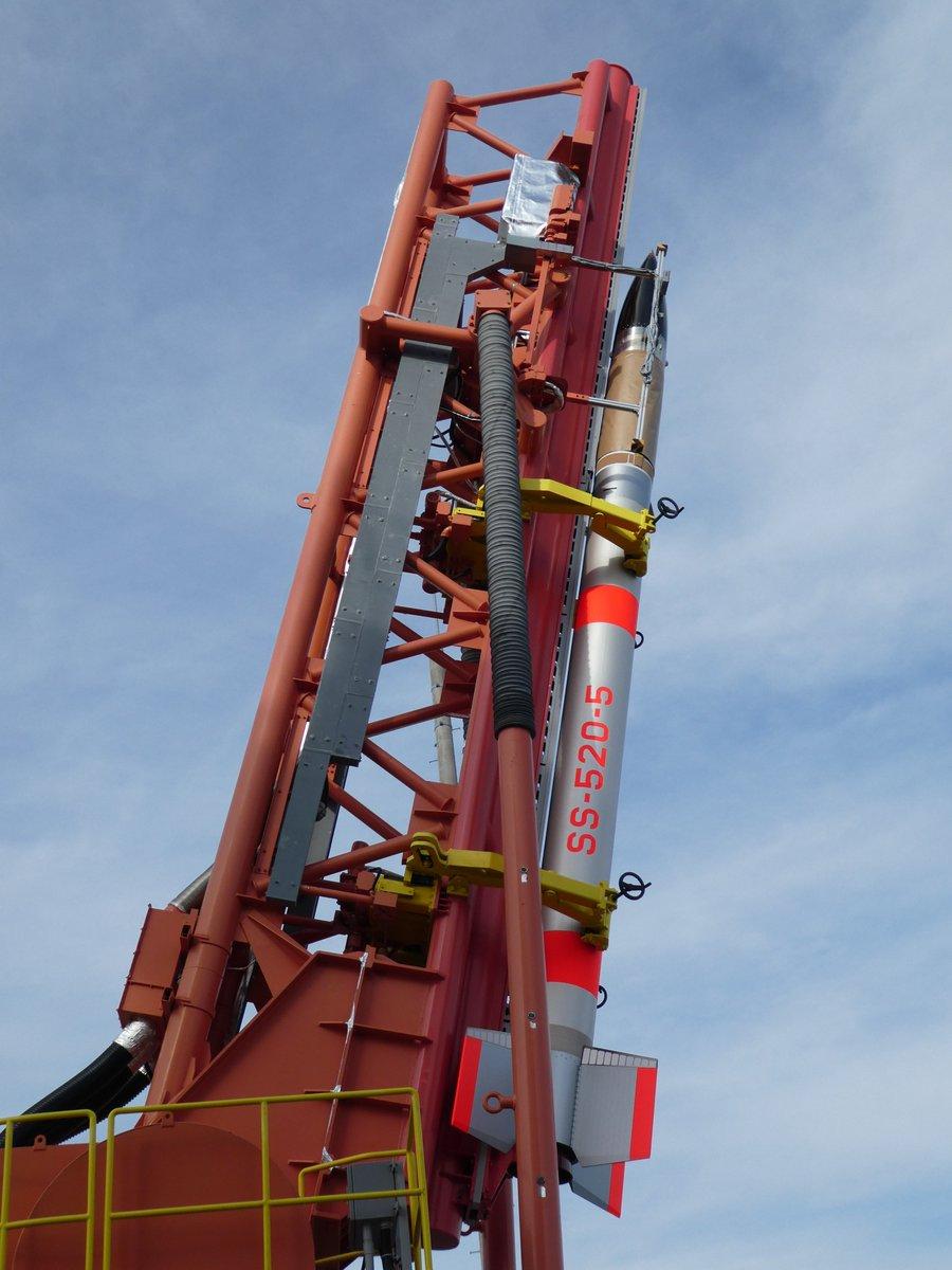 test ツイッターメディア - SS-520 5号機による超小型衛星打上げの実証実験は、明日2月3日(土)14時03分を予定しています。内之浦宇宙観測所では、打ち上げ実証実験に向けて着々と準備が進められてあいます。打ち上げ実験ライブ中継は、2月3日(土)13時50分から開始予定です。https://t.co/WqgteQ4rAE https://t.co/8QciPZPO1T