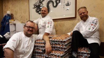Norway Olympic Team Accidentally Orders 15,000 Eggs Due To Translation Error