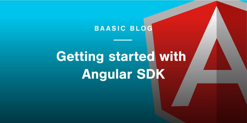 Check out how to setup #Angular application with Baasic #SDK.