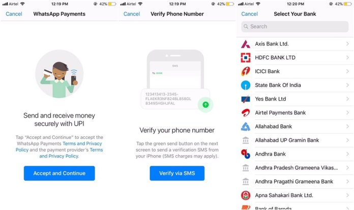 Image result for WhatsApp Pay wabetainfo