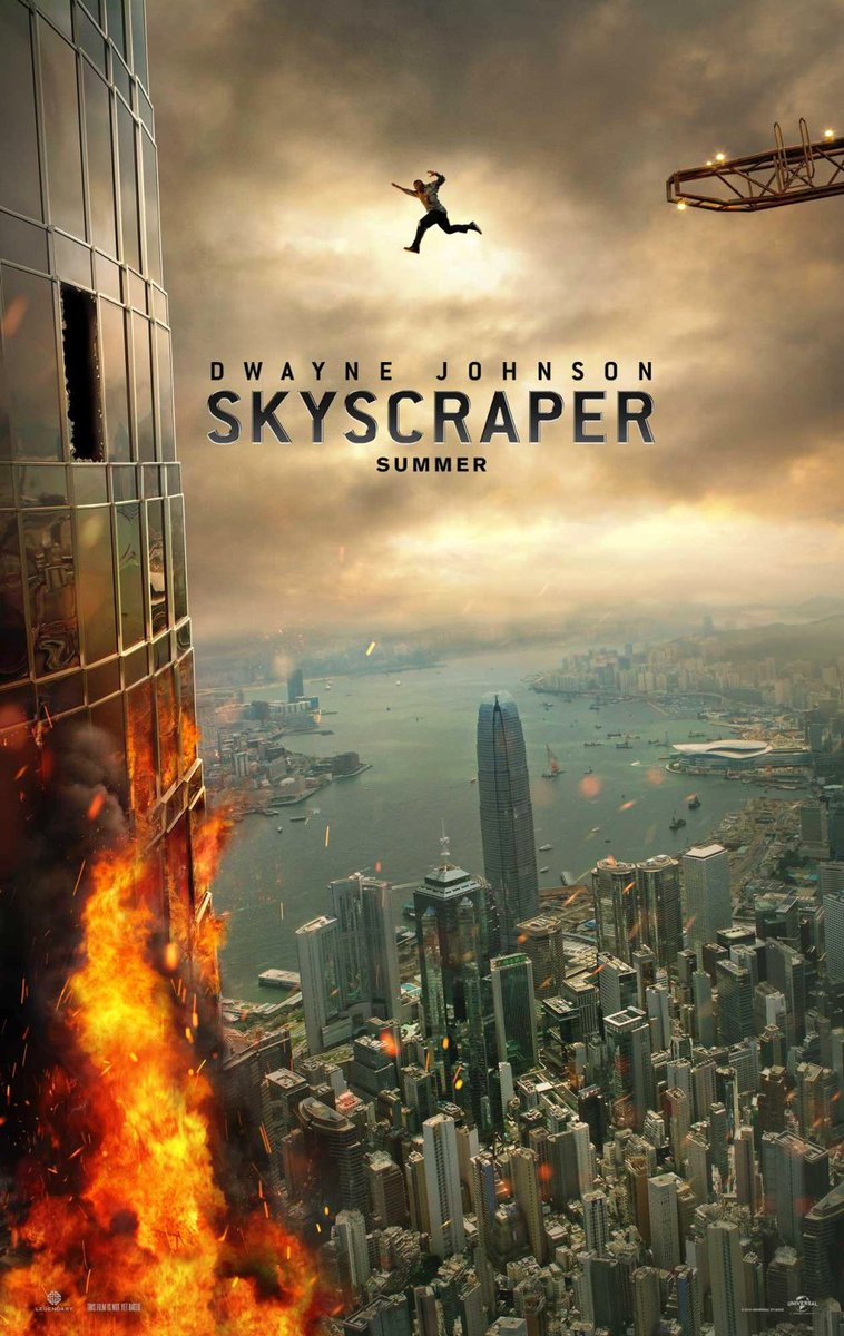 Skyscraper Trailer Featuring Dwayne Johnson