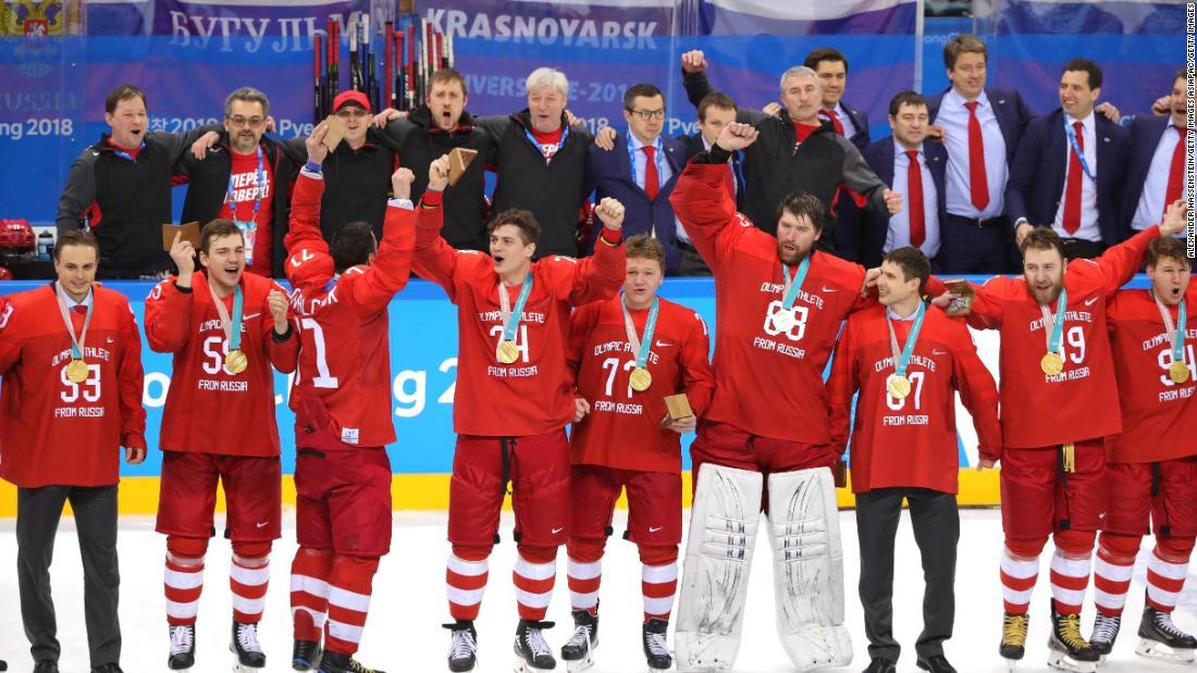 oar athletes sing russian