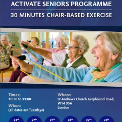 30 Minutes In Chair Exercises For Seniors Swing Canopy Chelsea Foundation On Twitter Our Activate Based Foundationverified Account
