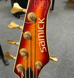 culbertson music on twitter here is an interesting one from a few years ago a samick 5 string bass designed by valley arts call in for a play at  [ 859 x 1200 Pixel ]