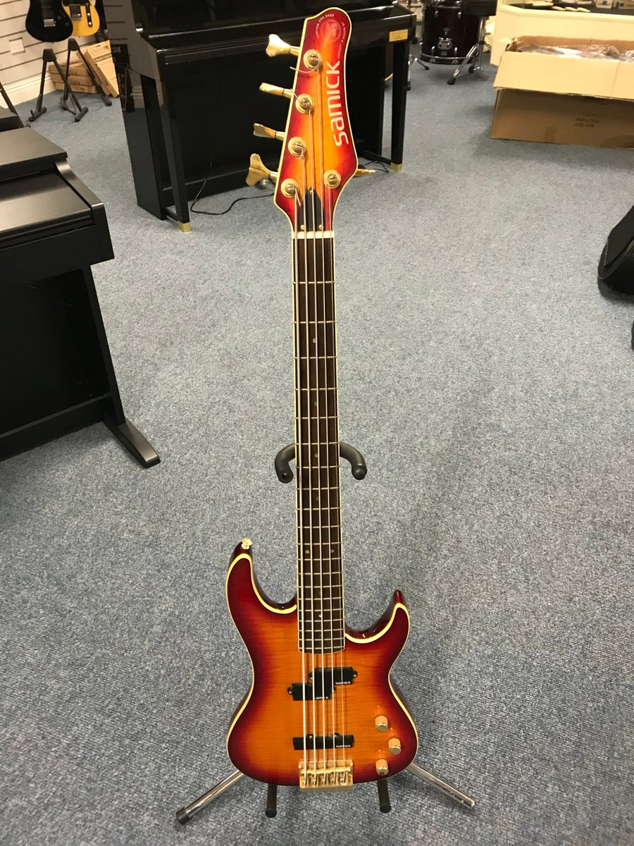 medium resolution of a samick 5 string bass designed by valley arts call in for a play at culbertson music coleraine 7 ballycastle road coleraine