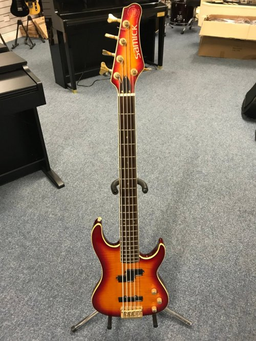 small resolution of a samick 5 string bass designed by valley arts call in for a play at culbertson music coleraine 7 ballycastle road coleraine