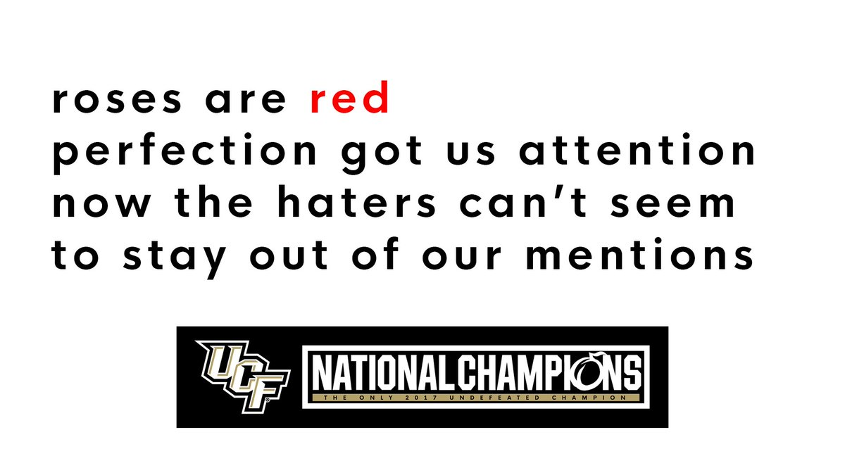 UCF Football Sends Valentine's Day Card To The Haters