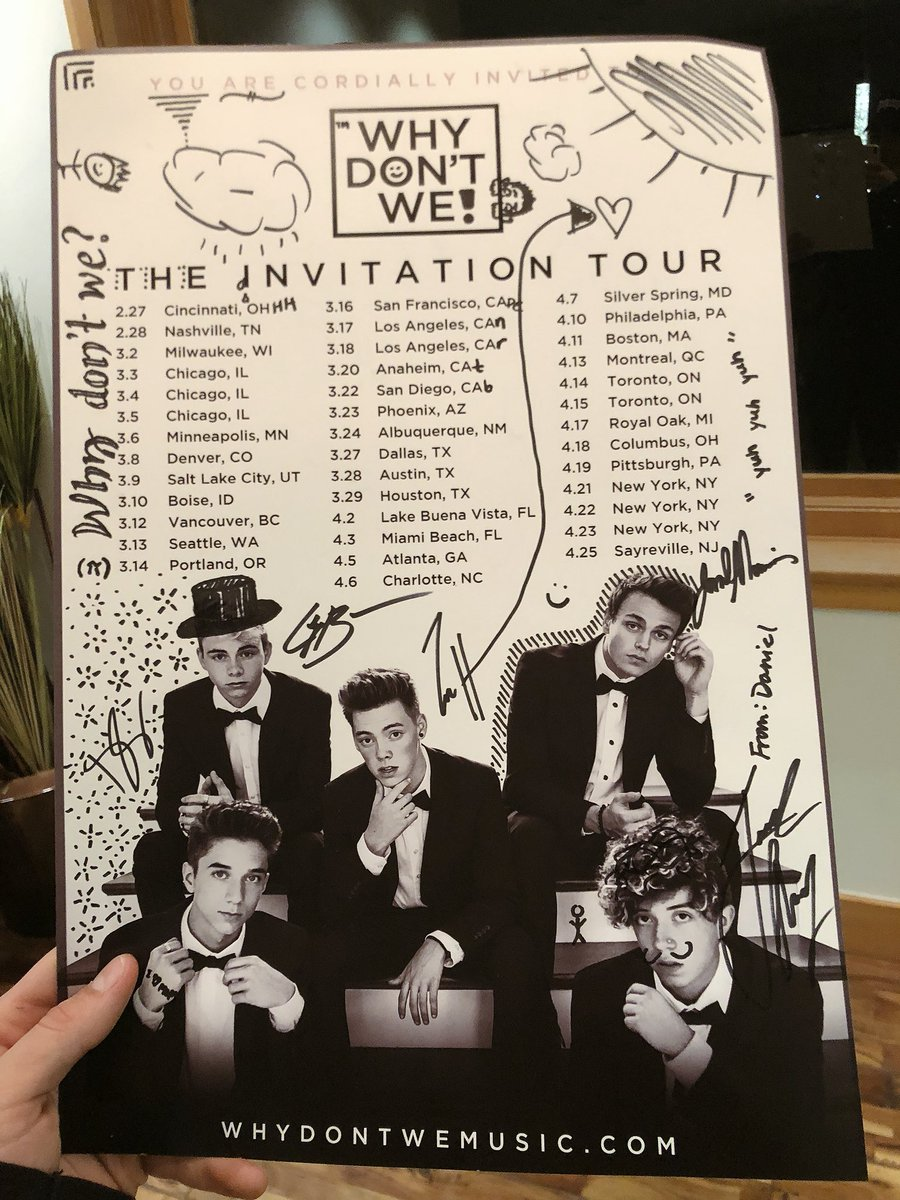 signed some posters today whoever gets