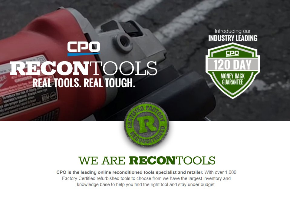 Cpo Reconditioned Tools Review