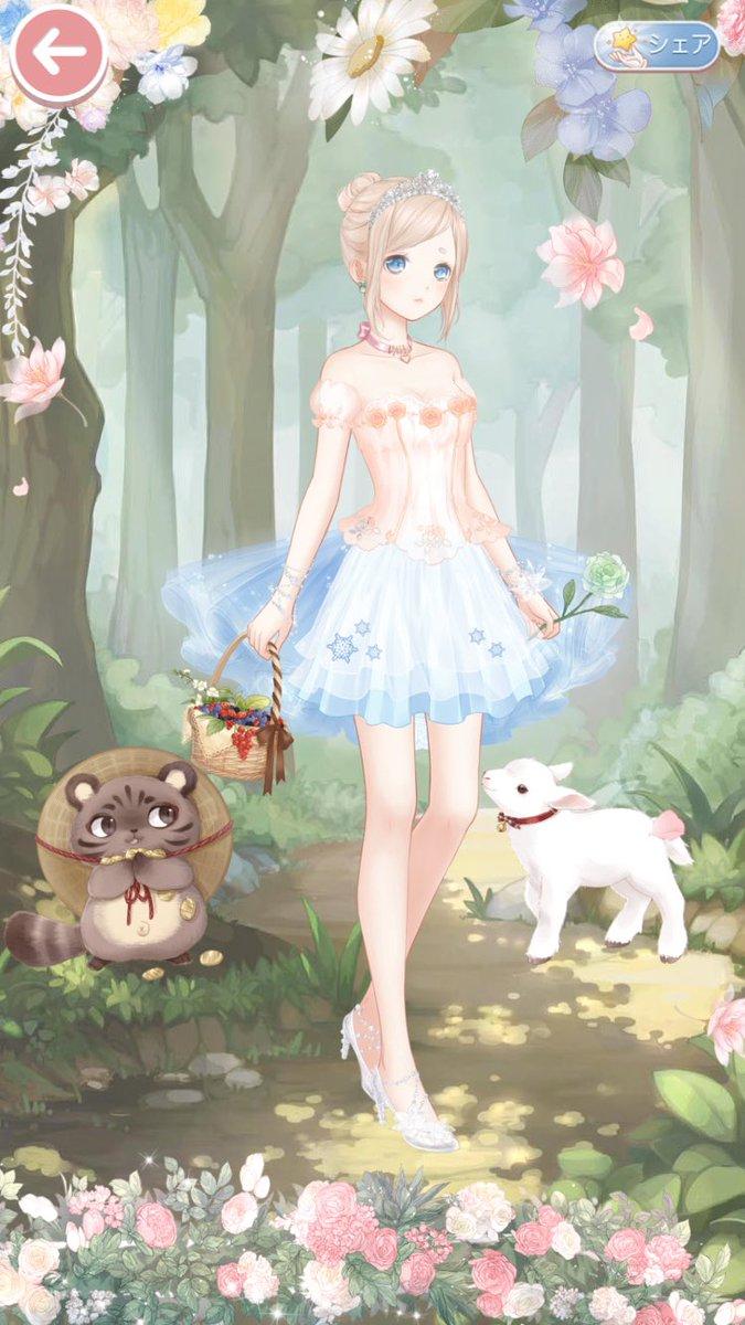 test ツイッターメディア - リドルさん🌸  ヘッダーのどうぶつの森のコーデが可愛くて出来るだけ再現😌💦 アプリのどう森始めてすぐ辞めちゃったから何してたか忘れたけど誰かに頼まれたお花?を探して摘んでいるところ🌸💕  いいねありがとうございます😊 https://t.co/y0cDLY5Cyw