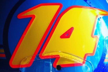 test ツイッターメディア - 【ヘルメット画像】マクラーレン・ルノーのアロンソ、新カラーリングを公開 https://t.co/rC8V5FnKwR https://t.co/3kPV3m6s4f