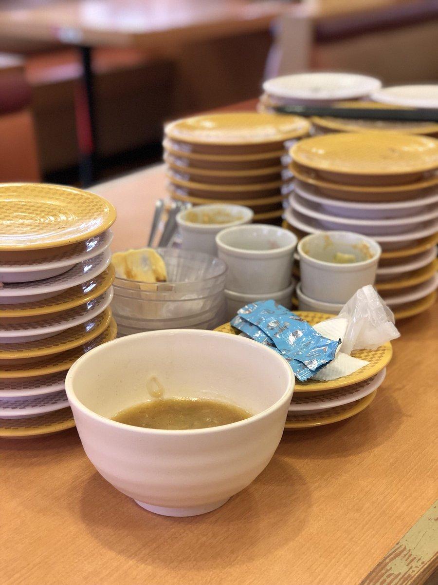 test ツイッターメディア - かっぱ寿司食べ放題勝負は オレ40 姉21 母20 と姉+母に敗北しました https://t.co/bZe98FJb8n