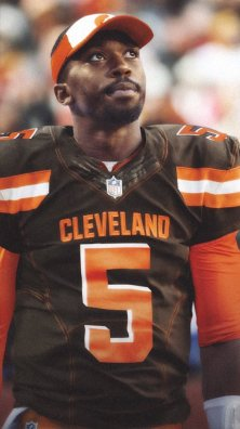 Image result for Tyrod Taylor in browns uniform picture
