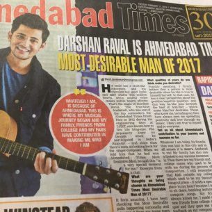 Image result for darshan raval ahmedabad times